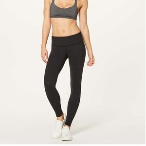 Lululemon black legging - size 2